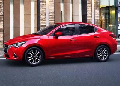 Mazda 2 Sedan 1.5L (Soul Red)